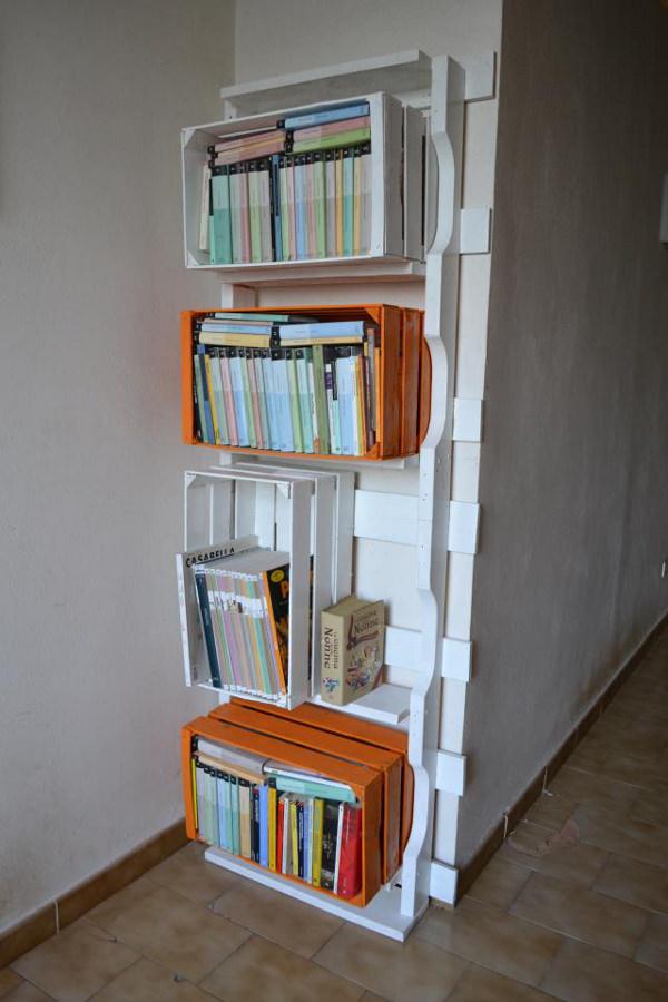 Cassette riciclate per libreria - Cassette riciclate per libreria