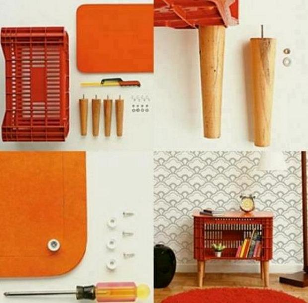 Arredamento creativo, come sistemare la camera da letto riciclando ...