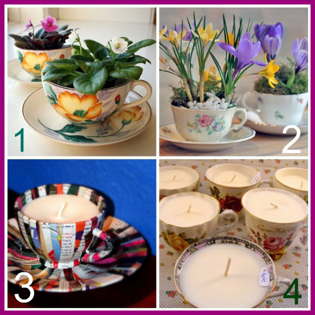 Bicchieri di vetro e tazze di porcellana idee per for Bicchieri caffe