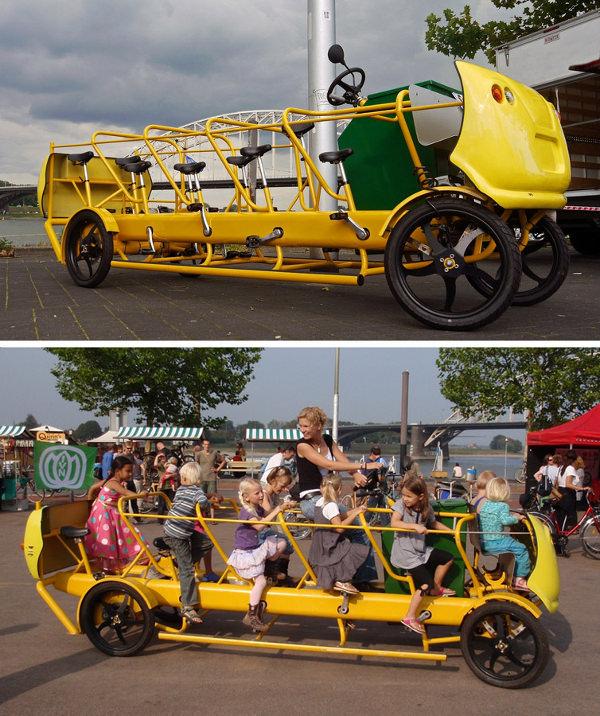 Olanda anche lo scuolabus si trasforma in bici for Costo impianto irrigazione a pioggia