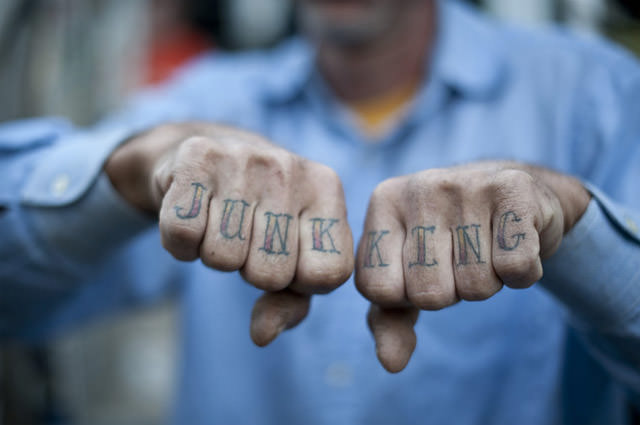 junk king tattoo
