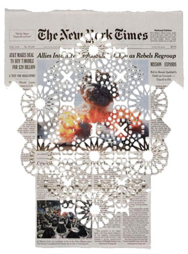 Donna Ruff e i suoi merletti incisi sul New York Times
