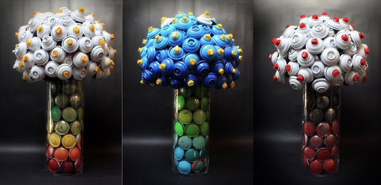 CANLOVE, dalle bombolette spray nascono fiori 14