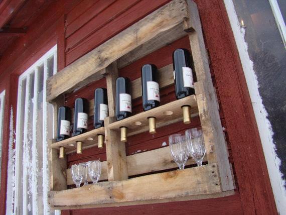 Pallet di tutto di pi parte 1 bioradar magazine - Botelleros de madera rusticos ...