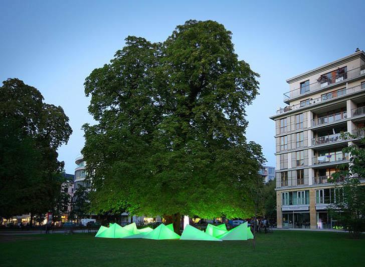 Tree Concert: un albero che suona le melodie del bosco