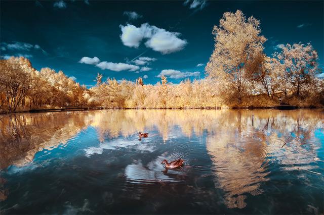 Paesaggi surreali: le fotografie all'infrarosso di David Keochkerian