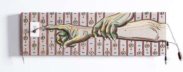 Contectado, i quadri d'autore fatti interamente di cavi elettrici