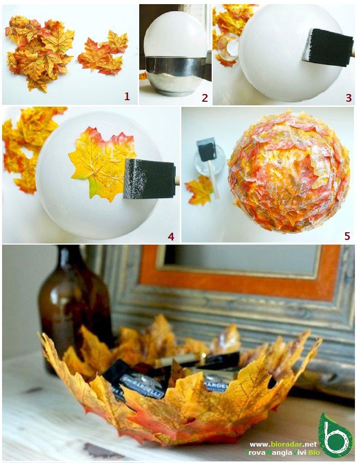 Autunno fai da te idee per utilizzare foglie rametti - Decorazioni oggetti fai da te ...
