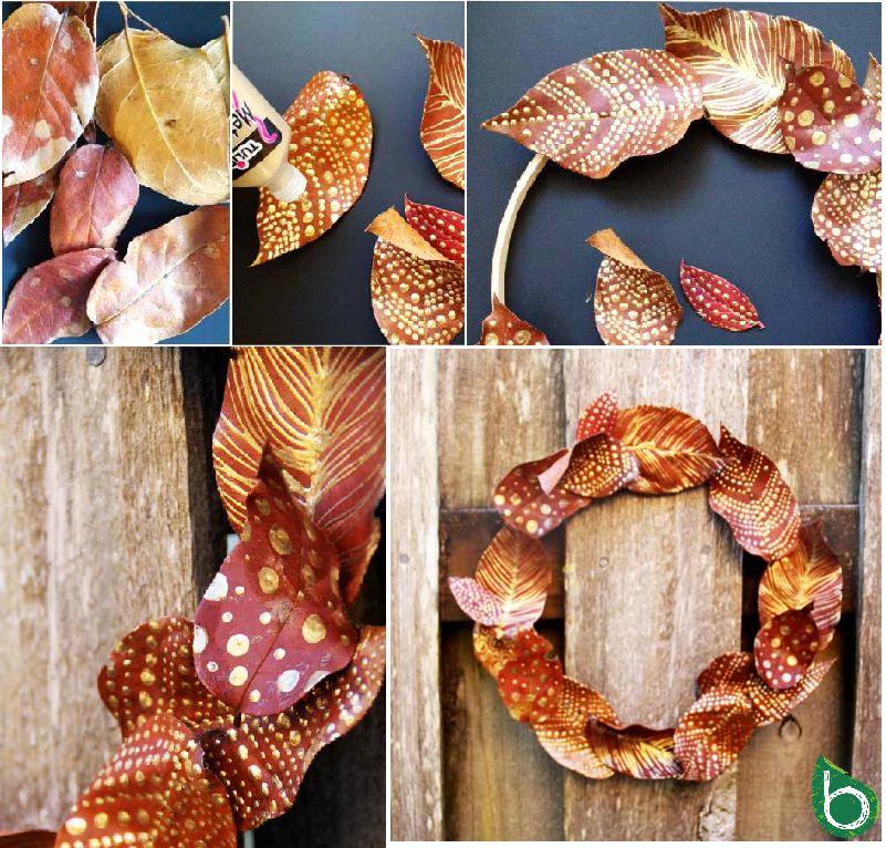 Autunno fai da te idee per utilizzare foglie rametti ghiande e pigne bioradar magazine - Bricolage fai da te idee ...