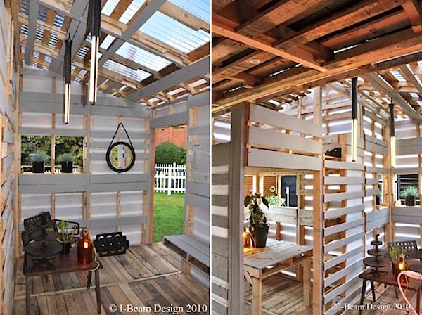 Pallet House Come Costruire Una Casa Ecologica Spendendo Meno Di 100 Bioradar Magazine