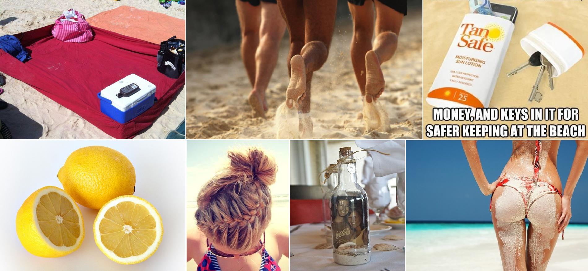 Trucchi da spiaggia: rimedi naturali e idee diy per trascorrere ...