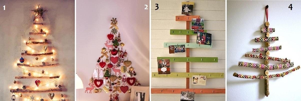 Natale fai da te come sistemare casa per le feste for Alberi di natale fai da te in legno