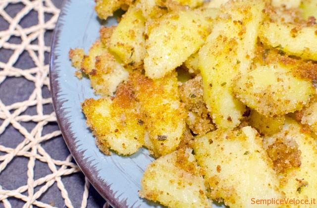 patate sabbiose forno ricetta vegan vegetariana