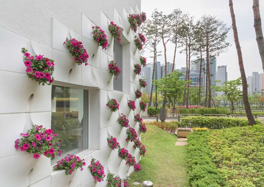 Pocket panel, speciali pannelli per coltivare un giardino ...