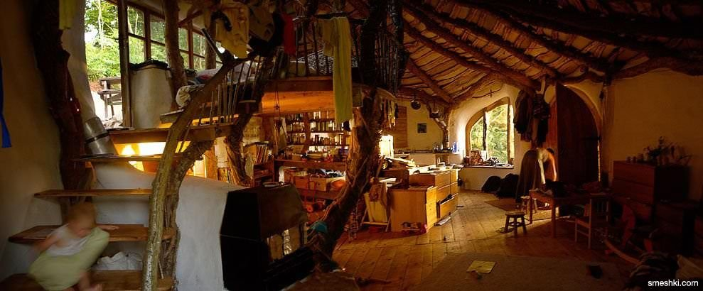 L 39 interno della casa hobbit bioradar for Interno della casa