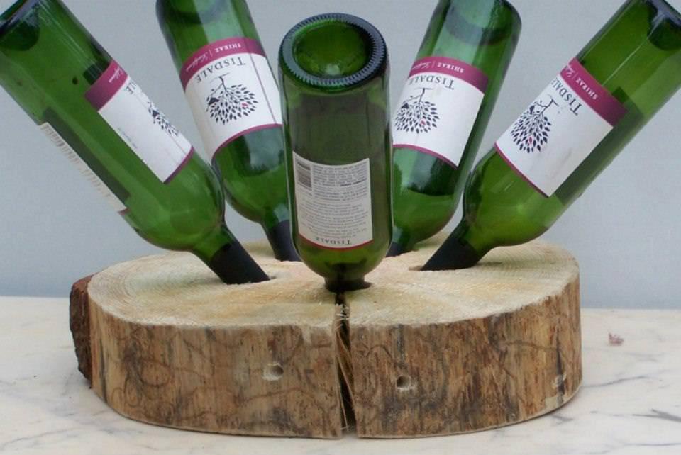 Portabottiglie di vino fai da te bioradar for Portabottiglie vino fai da te
