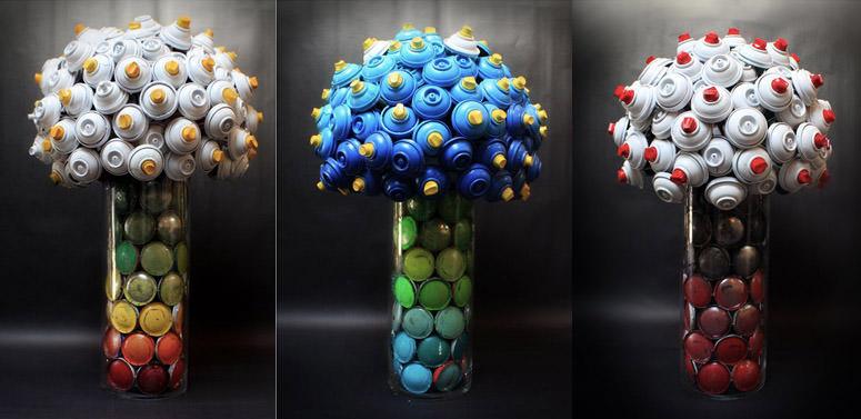 canlove dalle bombolette spray nascono fiori bioradar. Black Bedroom Furniture Sets. Home Design Ideas