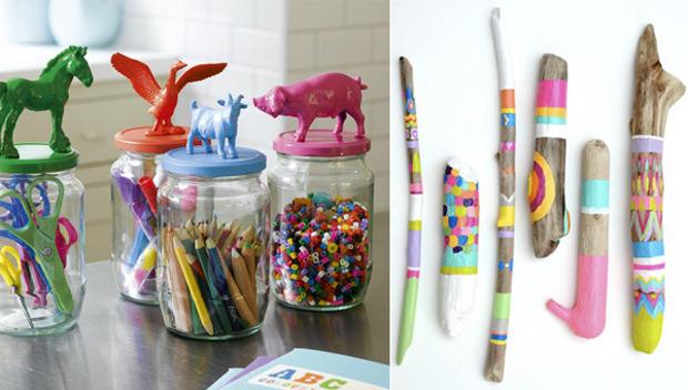 Cameretta per bimbi idee creative per arredarla con il for Lavoretti per decorare la stanza