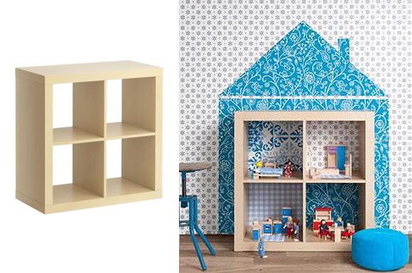 Cameretta per bimbi idee creative per arredarla con il for Casa barbie fai da te legno