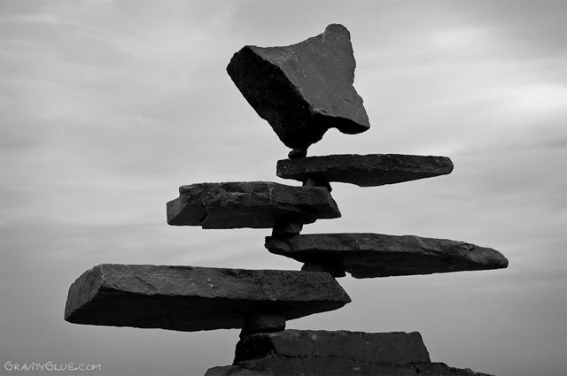 Arte effimera e land-art: nella vita ci vuole...equilibrio! - 1