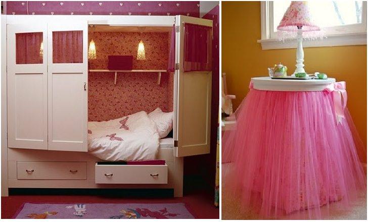 Arredare una camera da bambina con il fai da te e - Arredare camera da letto fai da te ...