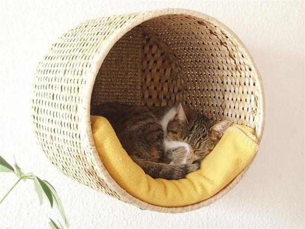 Mobili Per Gatti Ikea : Cuccia fai da te idee per costruire una cuccia per cani e gatti