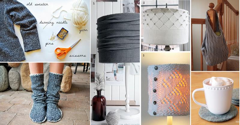 Top Come riutilizzare un vecchio maglione: 9 idee creative per non  QY87