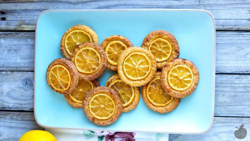 Dessert al limone: 7 ricette facili per preparare dolci vegan - biscotti croccanti