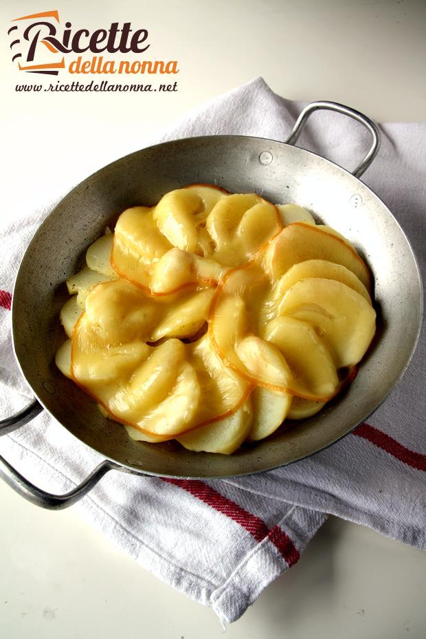 Patate 9 ricette facili per cucinare antipasto primo for Ricette per cucinare