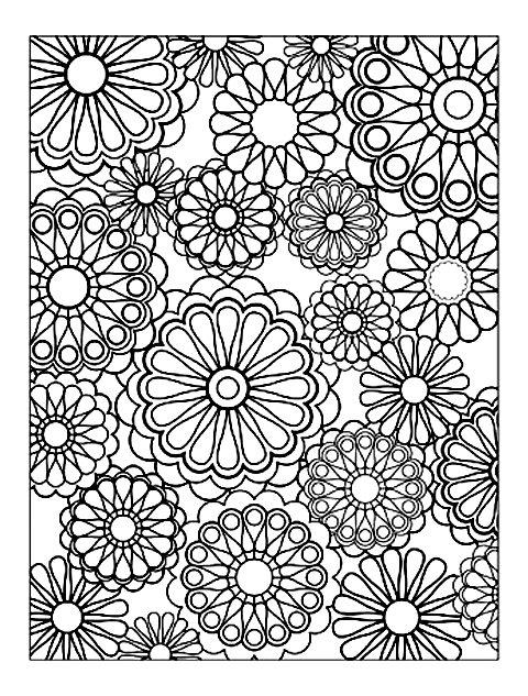 Art therapy 30 disegni da stampare e colorare - Coloriage relaxant ...